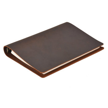 Classic Business Notebook A5 Genuine leather cover Loose leaf Journal Diary Traveler Notebook sketchbook planner